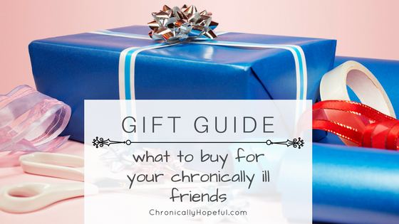 Gift guide, what to buy for spoonies, BLOG