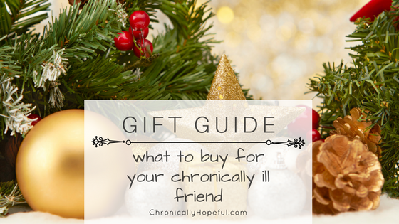 Gift guide, what to buy for spoonies, Christmas BLOG