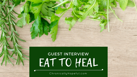 Interview Eat To Heal, BLOG