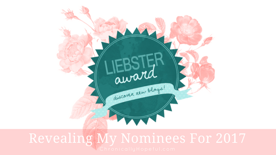 My First Liebster Award BLOG