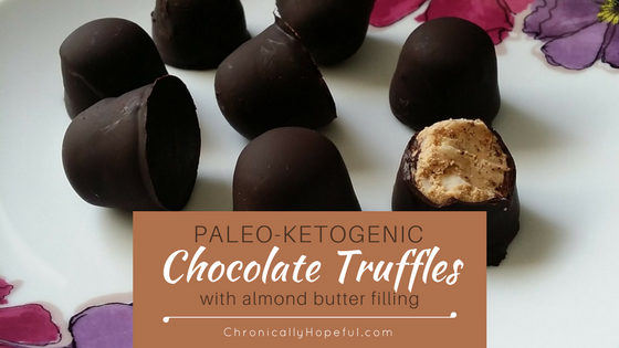 Paleo-ketogenic chocolate truffles BLOG